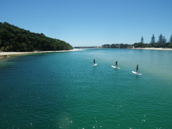 Tallebudgera Creek, Burleigh Heads, Australia. Winter 2012